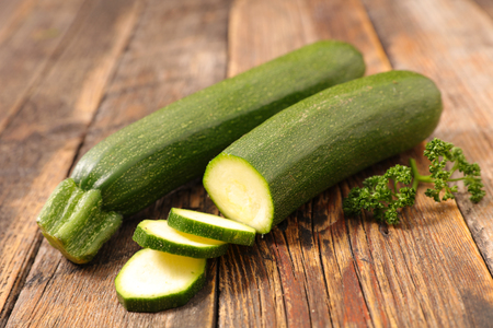 zucchini with slices