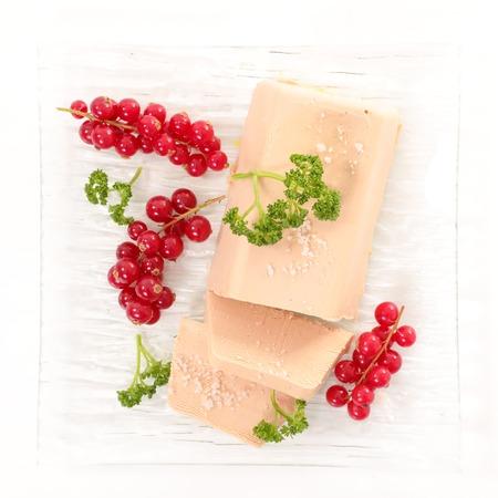 foie gras en rode bessen