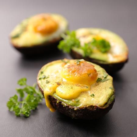 avocado and egg Stock Photo - 86514345