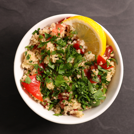 lebanese tabouleh Stock Photo
