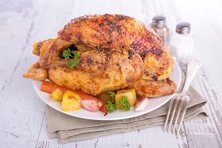 roast chicken Stock Photo - 87426970