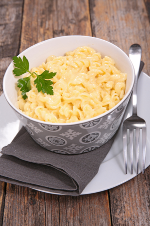 pasta with cheese Stock Photo - 87608686