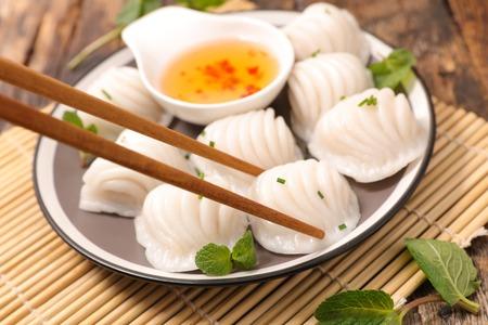 dim sum,asia food Stock Photo