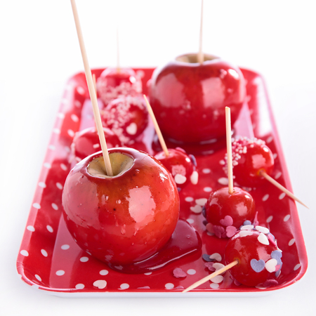 toffee apple candy