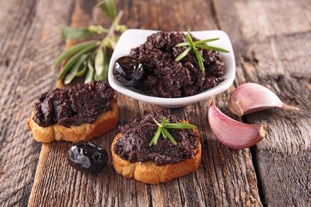 black olive, tapenade
