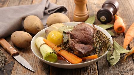 ragoût de boeuf et légumes