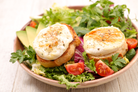 salad with goat cheese Stock Photo