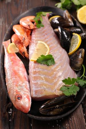 assorted fresh fish