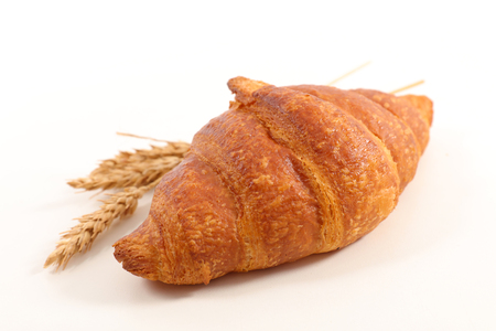 croissant isolated on white background Stock Photo - 98865608