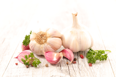 garlic and herbs
