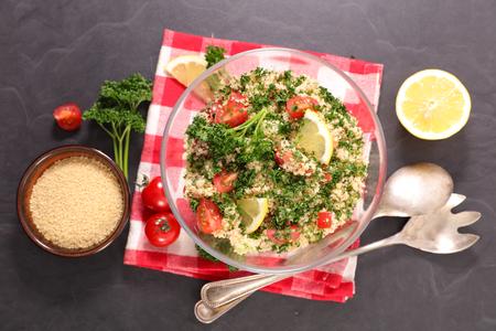homemade fresh tabbouleh