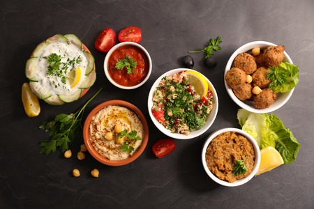 assorted lebanese dish