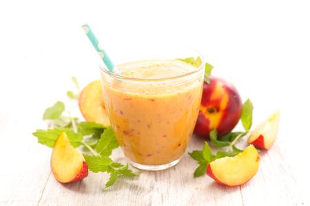 peach smoothie, juice