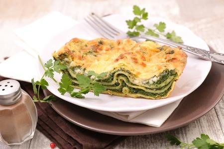 gourmet spinach lasagne