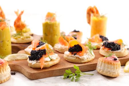 assorted finger food- buffet