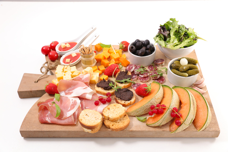 assorted snack and buffet food Stock Photo - 112984072