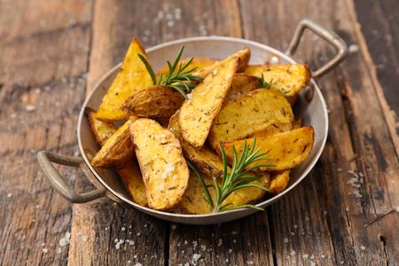 wedge potato and rosemary