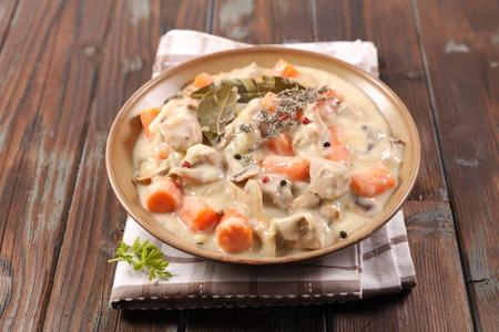 blanquette de veau, french gastronomy