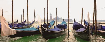 gondola in grand canal, Venice in Italy