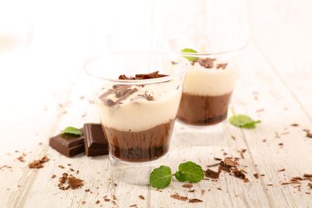 chocolate cream, studio shot
