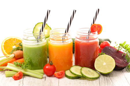 succo di verdura, bevanda salutare estiva
