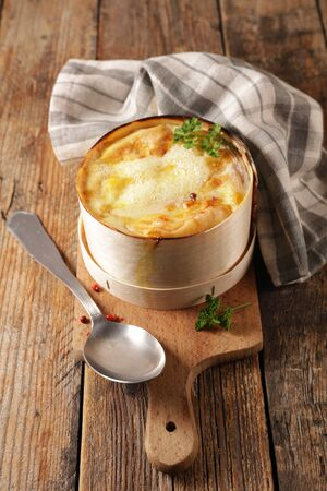 mont dor, traditional french dish- cheese fondue
