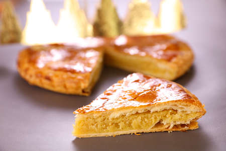 galette des rois- epiphany cake and crown