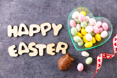 happy easter and easter egg