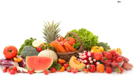 fruit and vegetable Stockfoto