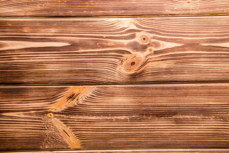 The texture of a dark brown, burnt wood. Background. panel
