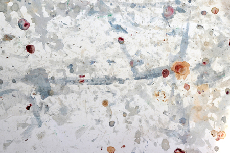 white abstract background with colorful blurry spots Reklamní fotografie