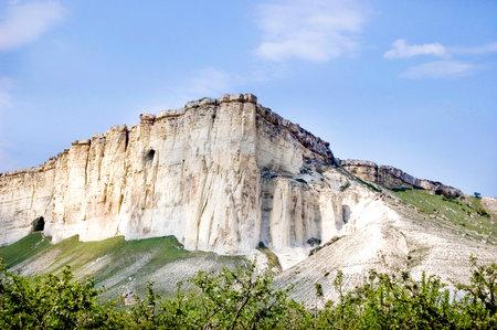 White Mountain Crimea Standard-Bild