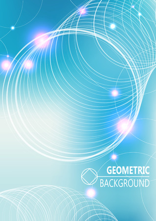 Modern cover design, layout brochure template, abstract composition, cover presentation on a4. Geometric design.