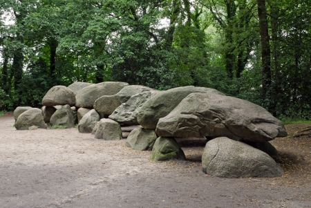 stone age: An ancient megalithic tomb in the Netherlands.