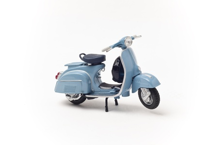 Italian vintage scooter isolated on white Stock Photo - 13772547