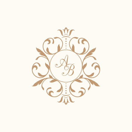 16,687 Monogram Frame Stock Vector Illustration And Royalty Free ...