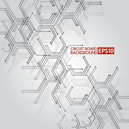 Circuit board .Abstract Background, Element for your Design.Vector Illustration Illustration