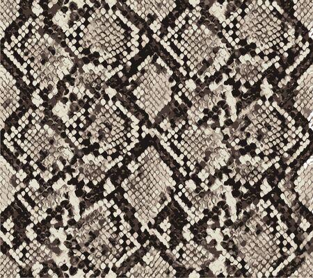 snake skin pattern design, animal print. element for your design. vector illustration background