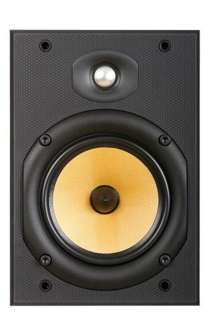 speaker on a white background photo