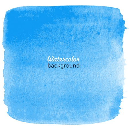 Watercolor hand drawn background for your design. Vector illustration.