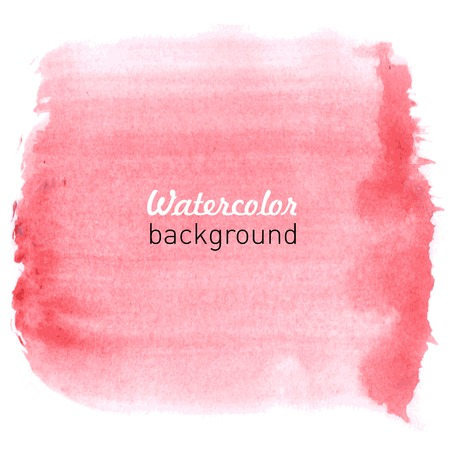 Watercolor hand drawn background for your design. Vector illustration. illustration