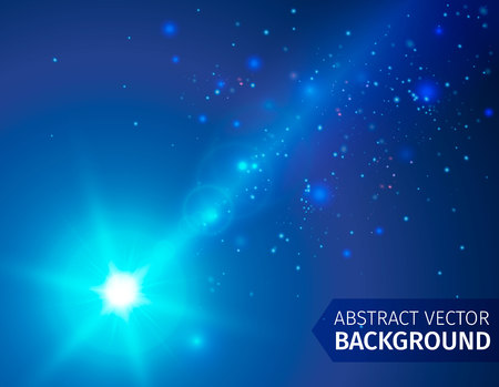 brilliancy: Soft colored abstract background with beam light.. Vector illustration. Illustration