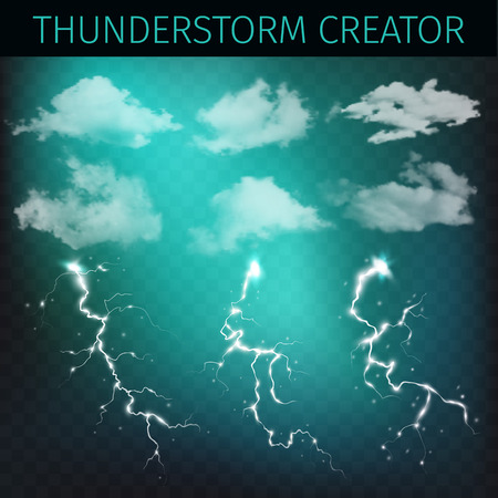creator: Sky creator with realistic clouds and thunderstorms.