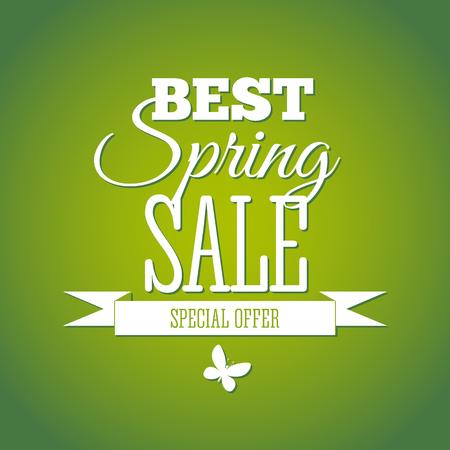 best buy: Spring Sale Lettering Design Background