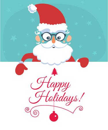 Santa s message banner