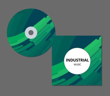 CD cover presentation design template