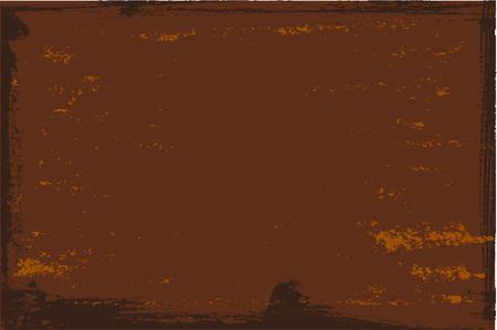 Rust textured surface. Old grunge rustic metal texture use for background. Vector illustration. Vektoros illusztráció