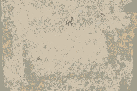 Gray textured concrete wall. Grunge textured background. Vector illustration.