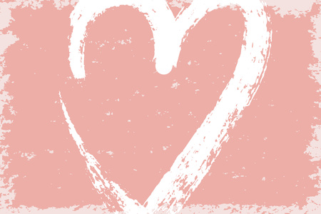Abstract pink background. Textured paper for Valentine post card. Vector illustration.