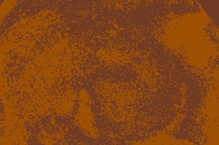 Roest gestructureerd oppervlak. Oude grunge rustieke metalen textuur gebruik voor achtergrond Vector Illustratie